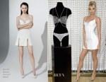 Elsa Hosk In David Koma & Attico - Victoria's Secret 2018 Dream Angels Fantasy Bra Unveiling