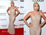 Lady Gaga In Azzedine Alaïa - 32nd American Cinematheque Award Presentation Honoring Bradley Cooper