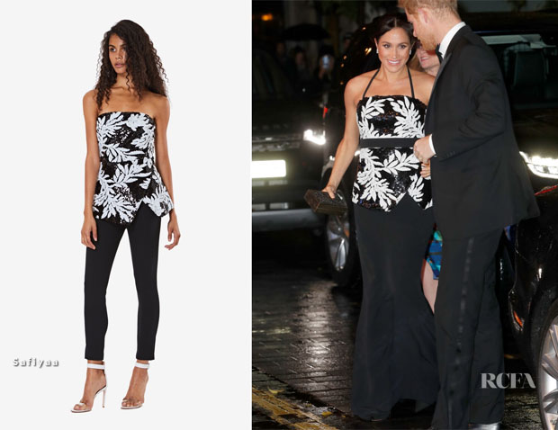 Meghan, Duchess of Sussex In Safiyaa - The Royal Variety Performance 2018