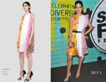 Melissa Barrera In MSGM - 13th Annual NBCUniversal Short Film Festival Finale Screening And Awards Ceremony