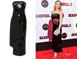 Blake Lively's Brandon Maxwell Strapless Sequin Dress