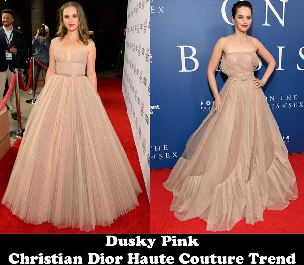Dusky Pink Christian Dior Haute Couture Trend