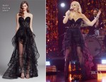 Fashion Blogger Catherine Kallon features Gwen Stefani In Nedo - The Late Late Show with James Corden