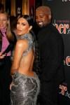 Kim Kardashian In Atelier Versace - 'The Cher Show' Broadway Opening Night