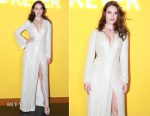Fashion Blogger Catherine Kallon feature Lily James In Galvan - Bvlgari's Fiorever Jewelry Collection Launch