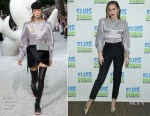 Fashion Blogger Catherine Kallon feature Miley Cyrus In Louis Vuitton - The Elvis Duran Z100 Morning Show