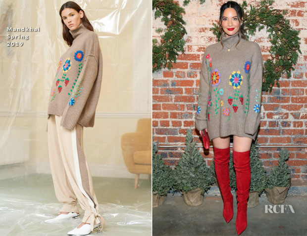 Fashion Blogger Catherine Kallon feature the Olivia Munn In Mandkhai - 1st Annual Cocktails For A Cause With Love Leo Rescue
