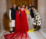 Fashion blogger Catherine Kallon features Priyanka Chopra In Christian Dior Haute Couture & Sabyasachi - Hindu Wedding Reception