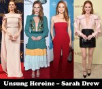 Fashion Blogger Catherine Kallon features Unsung Heroine – Sarah Drew