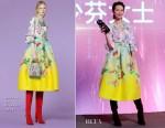 Fashion Blogger Catherine Kallon features Ada Choi In Andrew Gn - 2019 Yoka Awards Ceremony