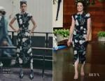 Fashion Blogger Catherine Kallon features Claire Foy In Erdem - The Ellen DeGeneres