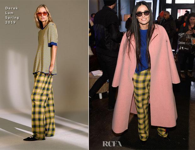 Fashion Blogger Catherine Kallon features Demi Moore In Derek Lam - The Vulture Spot At Sundance