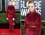 Fashion Blogger Catherine Kallon features Elsie Fisher In Kenzo - 2019 Golden Globe Awards