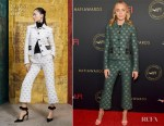 Fashion Blogger Catherine Kallon features Emily Blunt In Altuzarra - 2019 AFI Awards