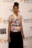Fashion Blogger Catherine Kallon features Kiki Layne In Chanel - BAFTA Los Angeles Tea Party