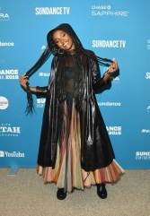 Fashion Blogger Catherine Kallon features Kiki Layne In Christian Dior - 'Native Sun' Sundance Film Festival Premiere