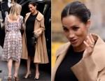 Fashion Blogger Catherine Kallon features Meghan, Duchess of Sussex In Hatch Collection & Oscar de la Renta - Smart Works Visit