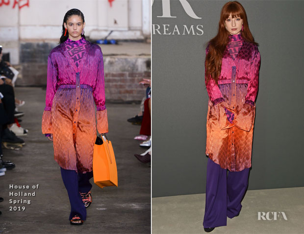 Fashion Blogger Catherine Kallon features Nicola Roberts In House of Holland - 'Christian Dior: Designer Of Dreams' Exhibition At The V&A