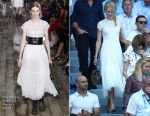 Fashion Blogger Catherine Kallon features Nicole Kidman In Christian Dior - 2019 Australian Open