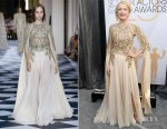 Fashion Blogger Catherine Kallon features Patricia Clarkson In Zuhair Murad Couture - 2019 SAG Awards