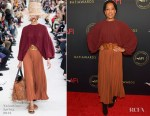 Fashion Blogger Catherine Kallon features Regina King In Valentino - 2019 AFI Awards