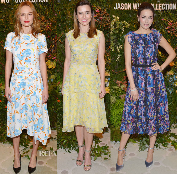 Fashion Blogger Catherine Kallon features Saks Fifth Avenue Hosts Jason Wu Luncheon Kate Bosworth Linda Cardellini Camilla Belle