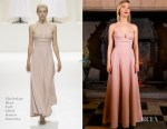 Fashion Blogger Catherine Kallon features Saoirse Ronan In Christian Dior Haute Couture - 'Mary Queen Of Scots' Edinburgh Premiere