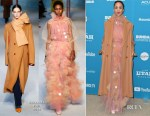 Fashion Blogger Catherine Kallon features Zawe Ashton In Roksanda - 'Velvet Buzzsaw' Sundance Film Festival & LA Premiere