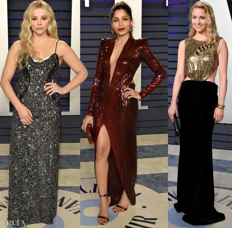 2019 Vanity Fair Oscar Party Red Carpet Roundup