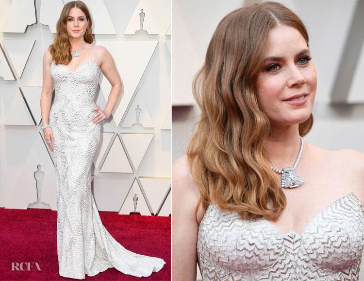Amy Adams In Atelier Versace - 2019 Oscars