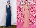 Fashion Blogger Catherine Kallon features Betty Gilpin In Missoni - 'Isn't it Romantic' LA Premiere