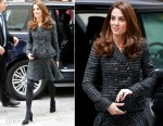 Fashion Blogger Catherine Kallon features Catherine, Duchess of Cambridge In Dolce & Gabbana - 'Mental Health In Education' Conference