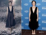 Fashion Blogger Catherine Kallon features Claire Foy In Christian Dior - 34th Santa Barbara International Film Festival