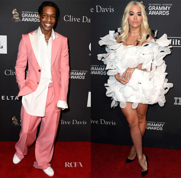 Fashion Blogger Catherine Kallon features Clive Davis' 2019 Pre-GRAMMY Gala