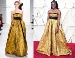 Danai Gurira In Brock Collection - 2019 Oscars