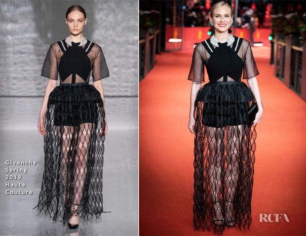 Fashion Blogger Catherine Kallon features Diane Kruger In Givenchy Haute Couture - 'The Operative' Berlinale Film Festival Premiere & Photocall