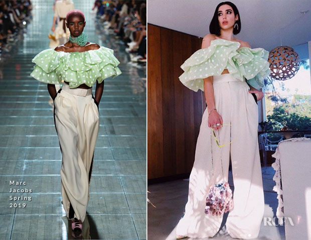 Fashion Blogger Catherine Kallon Features Dua Lipa in Marc Jacobs