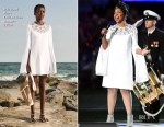 Fashion Blogger Catherine Kallon features Gladys Knight In Michael Kors Collection - Super Bowl LIII