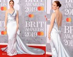 Fashion Blogger Catherine Kallon features Jess Glynne In Vivienne Westwood Couture - The BRIT Awards 2019