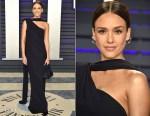 Jessica Alba In Narciso Rodriguez - 2019 Vanity Fair Oscar Party