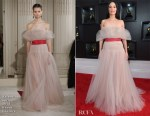 Fashion Blogger Catherine Kallon features Kacey Musgraves In Valentino Haute Couture - 2019 Grammy Awards