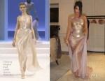 Kim Kardashian In Thierry Mugler Haute Couture - Thierry Mugler: Couturissime Exhibit