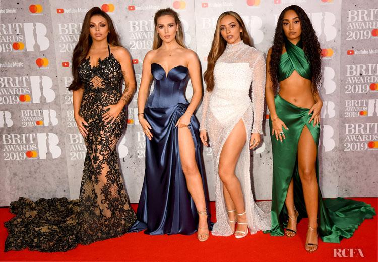 Fashion Blogger Catherine Kallon features Little Mix @ The BRIT Awards 2019