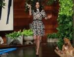 Mila Kunis In Self-Portrait - The Ellen DeGeneres Show