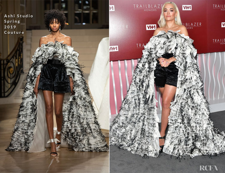 Fashion Blogger Catherine Kallon features Rita Ora In Ashi Studio - VH1 Trailblazer Honors