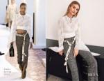 Fashion Blogger Catherine Kallon features Rosie Huntington Whiteley In Chloe - Summer Fridays Launch