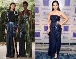 Fashion Blogger Catherine Kallon features Sophia Bush in Prabal Gurung - 2019 Excellence In Production Design Awards