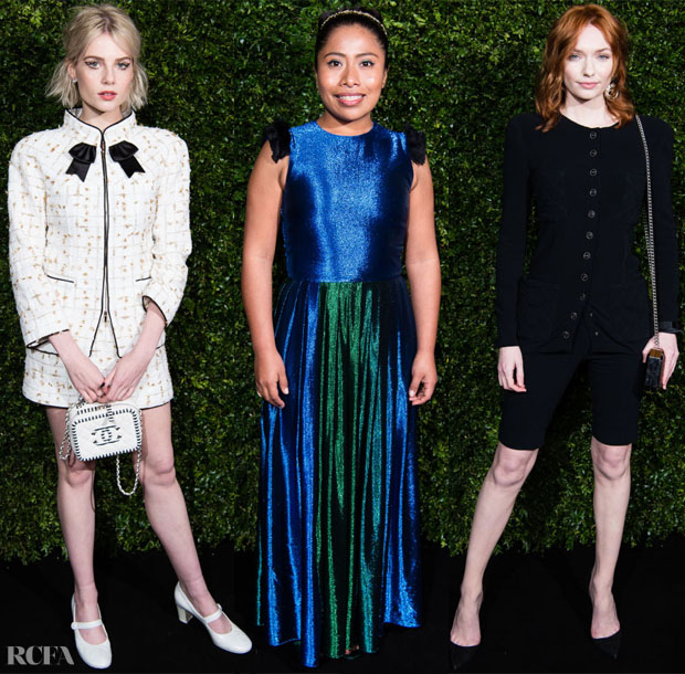 Fashion Blogger Catherine Kallon features The Charles Finch & Chanel Pre-BAFTA's Dinner