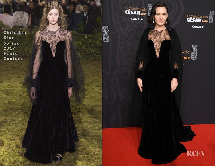 Virginie Ledoyen In Christian Dior Haute Couture - Cesar Film Awards 2019