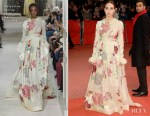 Fashion Blogger Catherine Kallon Features Zoe Kazan In Valentino Haute Couture - 'The Kindness Of Strangers' Berlinale Film Festival Premiere